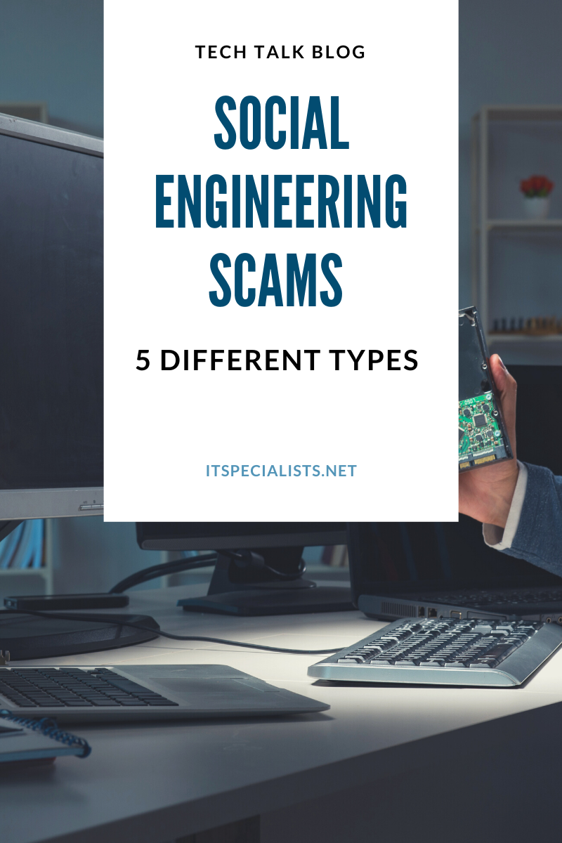 5 Types of social engineering scams