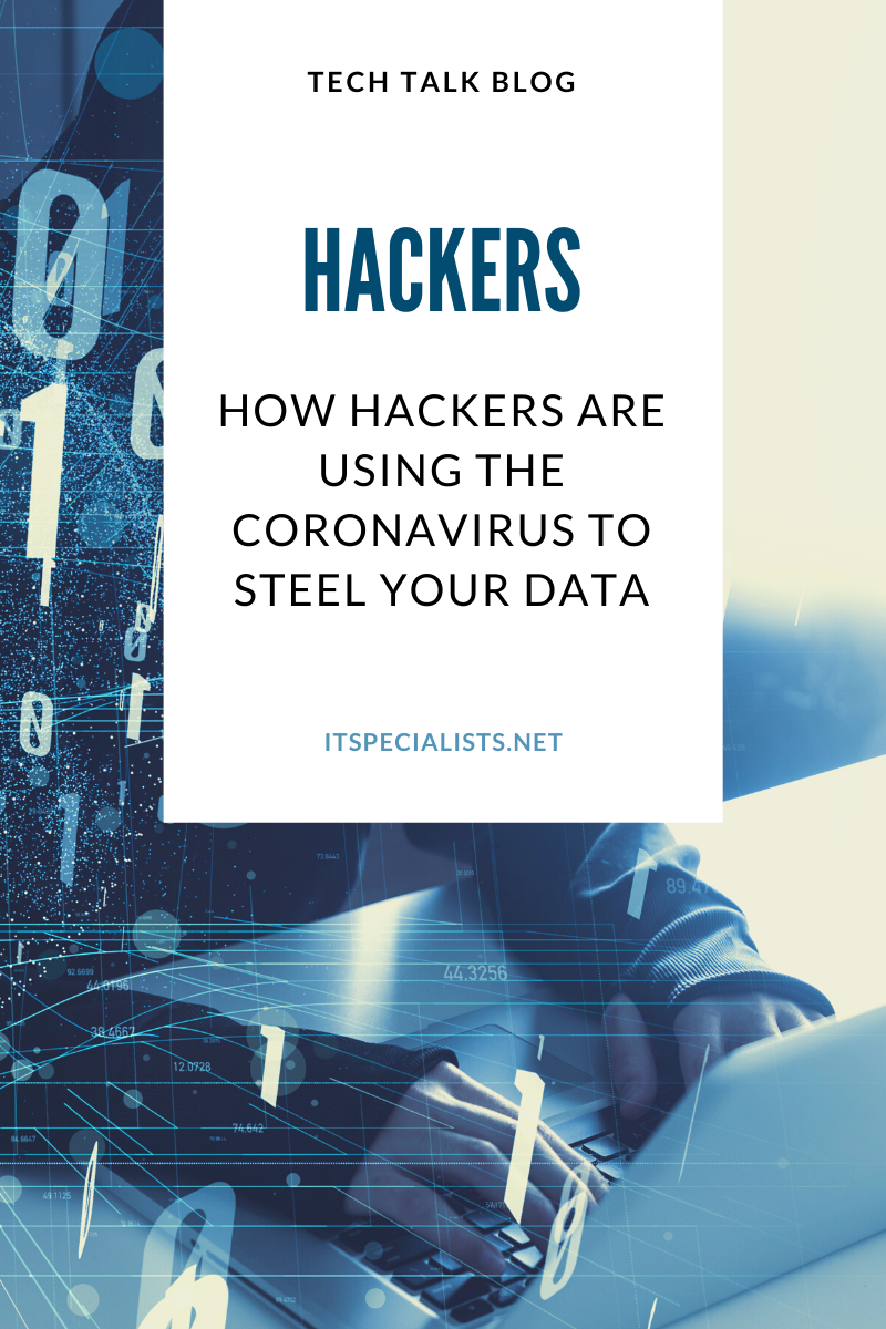 How Hackers are Using the Coronavirus to Steel Your Data