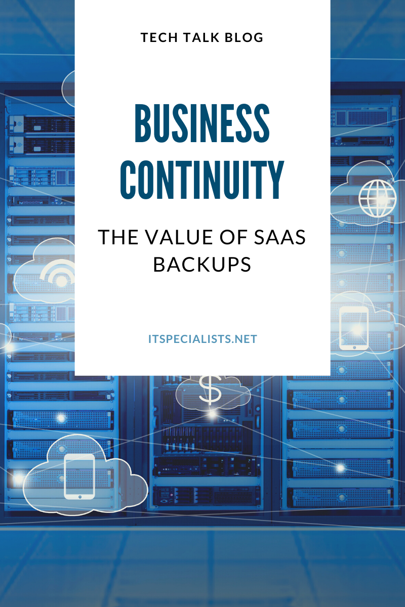 The Value of SaaS Backups