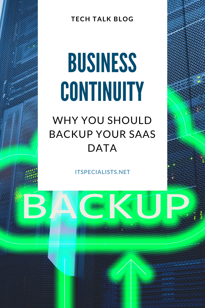 Why You Should Backup Your SaaS Data